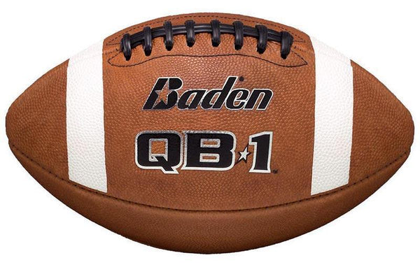 Baden American Football QB1 Buckskin Leather Game Ball-MO REPS® Fitness Store