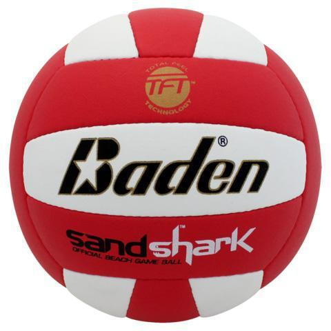 Baden Sandshark Volleyball Red-White-MO REPS® Fitness Store