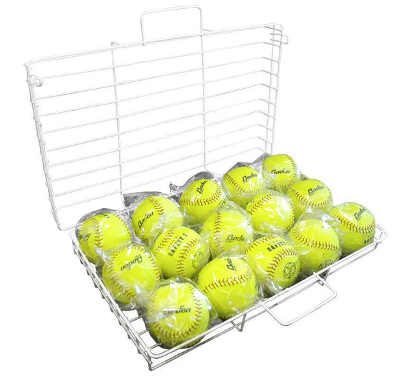 Ball Cage - Holds 15 for Softball-MO REPS® Fitness Store