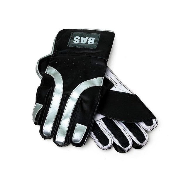 BAS Indoor Wicket Keeping Cricket Gloves-MO REPS® Fitness Store