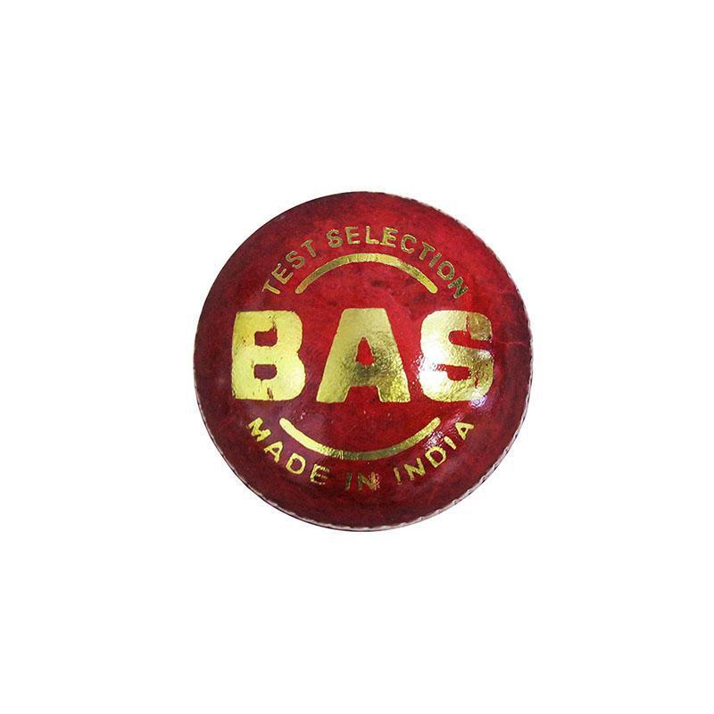 BAS Test Selection Cricket Ball-Red-MO REPS® Fitness Store