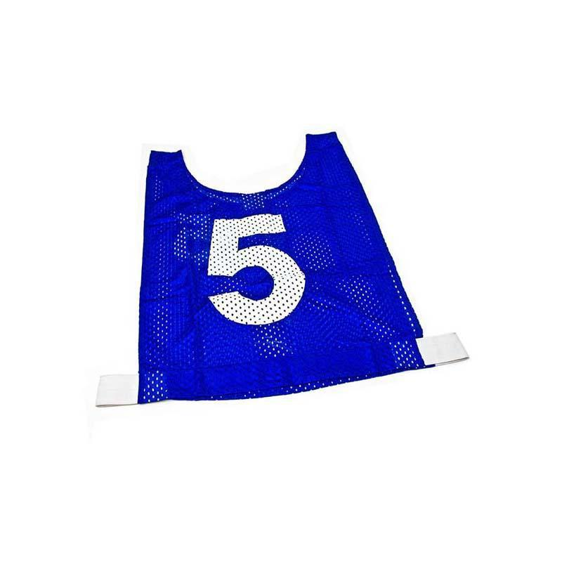 Basketball Mesh Training Bib - Set of 10-Junior-Blue-MO REPS® Fitness Store