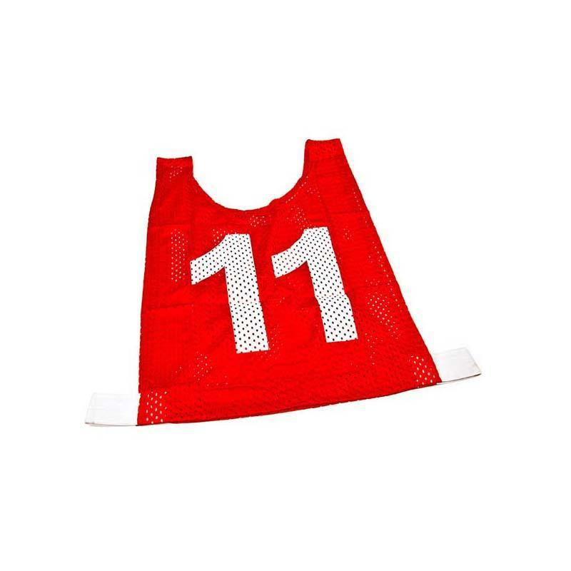 Basketball Mesh Training Bib - Set of 10-Junior-Red-MO REPS® Fitness Store