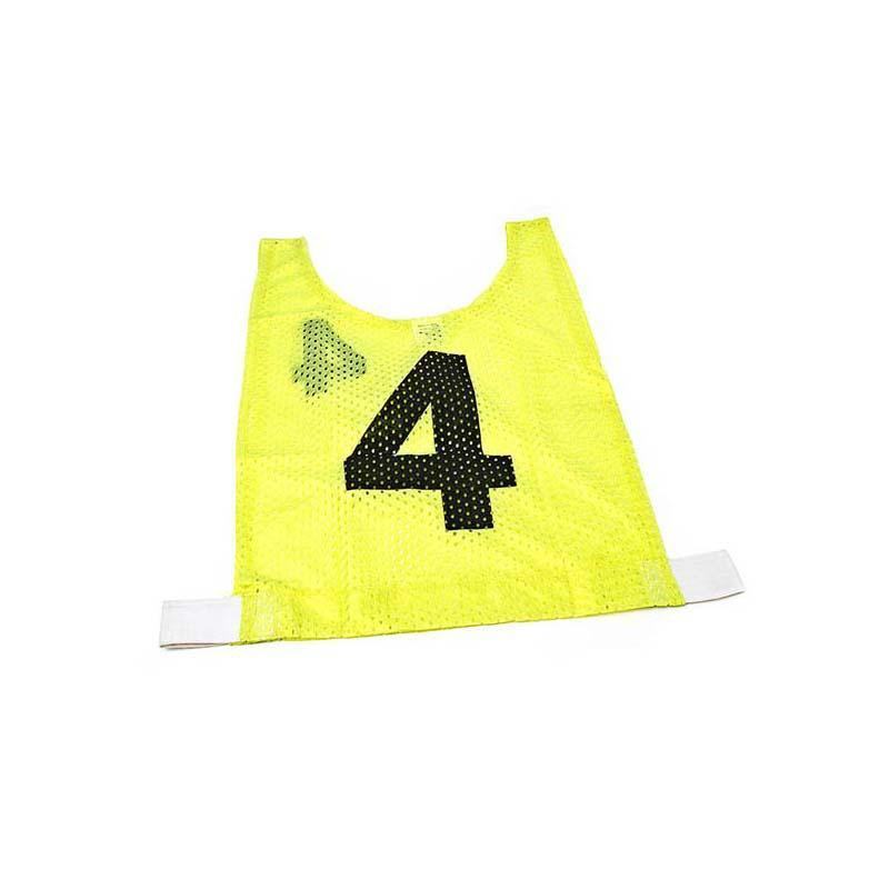 Basketball Mesh Training Bib - Set of 10-Junior-Yellow-MO REPS® Fitness Store