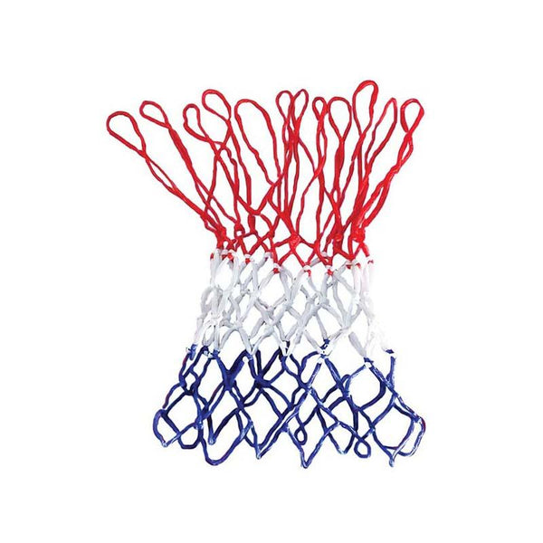 Basketball Net Tri-Colour - Red/ White/ Blue-MO REPS® Fitness Store