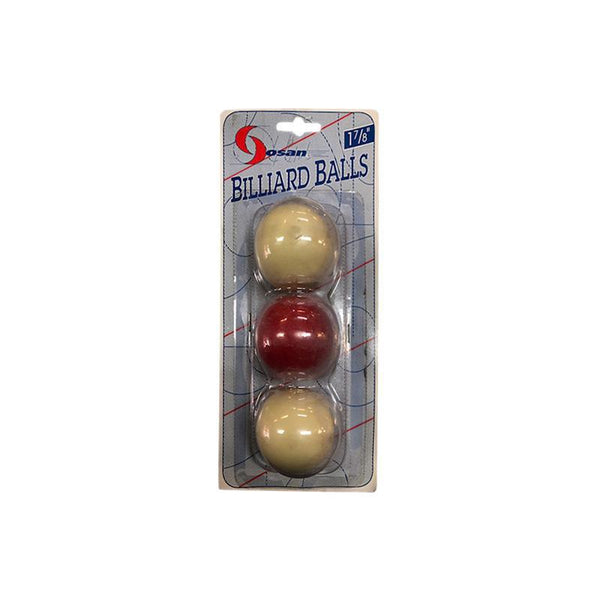 "Billiard Balls Set Of 3 - 1 7/8""-MO REPS® Fitness Store"