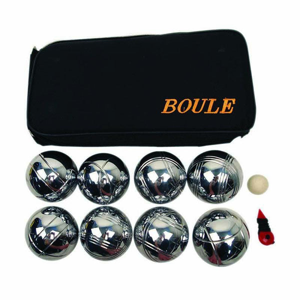 Boule Set Chromed Metal - Nylon Carry Bag-MO REPS® Fitness Store