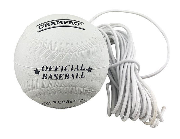 "Champro Teeball 9"" Rubber - Sponge Centre Tether-MO REPS® Fitness Store"