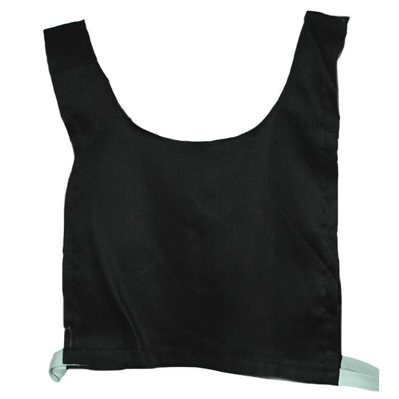 Cotton Training Bib-Small-Black-MO REPS® Fitness Store