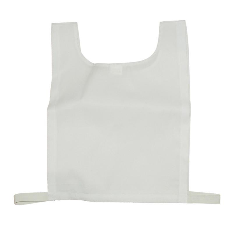 Cotton Training Bib-Small-White-MO REPS® Fitness Store