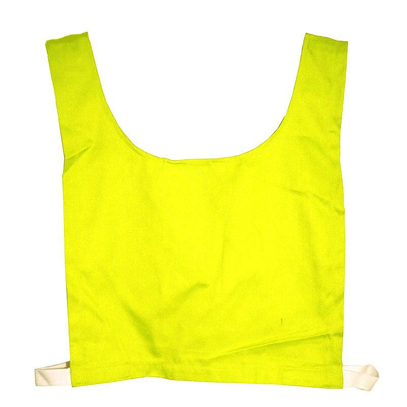 Cotton Training Bib-Small-Yellow-MO REPS® Fitness Store