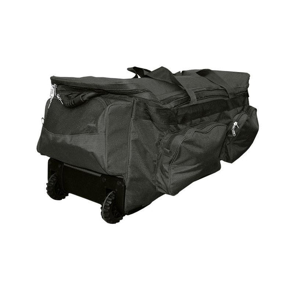 Cricket Bag Deluxe Team Wheelie-Black-MO REPS® Fitness Store