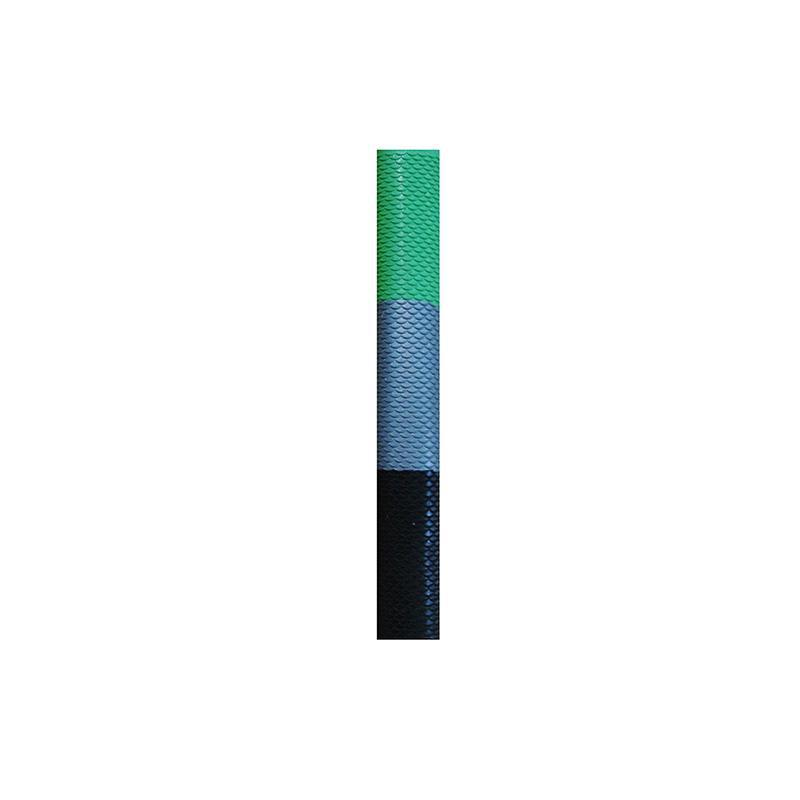 Cricket Bat Grips - Scale-BlackSilverGreen-MO REPS® Fitness Store