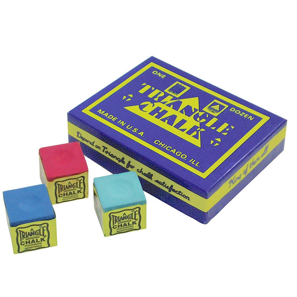 Cue Chalk (Box of 12 cubes)-MO REPS® Fitness Store