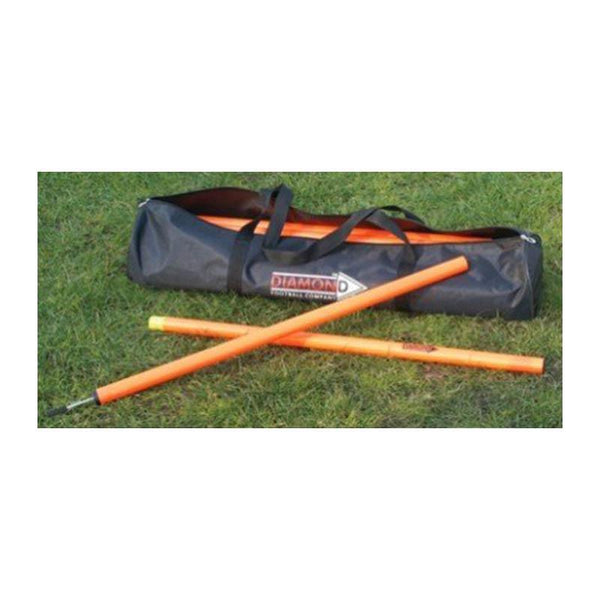 Diamond Agility Poles - 2pc Set of 12-MO REPS® Fitness Store