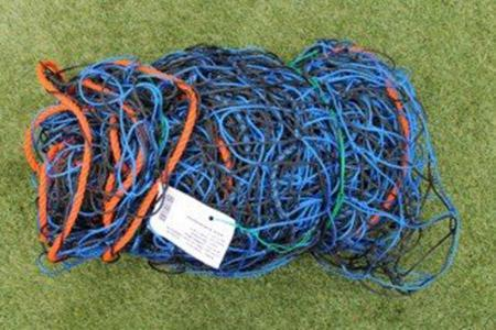 Diamond Continental Net Club Colour - 24ft x 8ft-BlackBlue-MO REPS® Fitness Store
