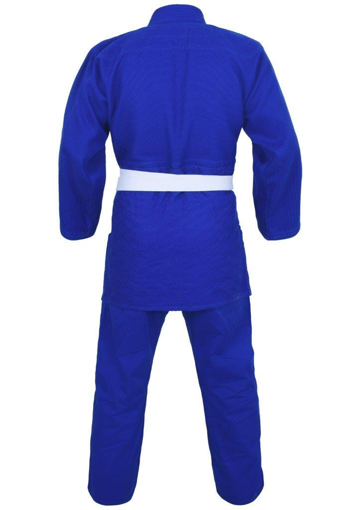 Dragon 1.5 (550GSM) Weave Judo Uniform - Blue-MO REPS® Fitness Store