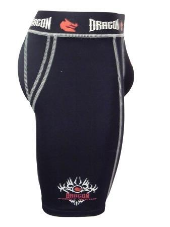 Dragon Compression Shorts with Tri-Flex Groin Cup-MO REPS® Fitness Store