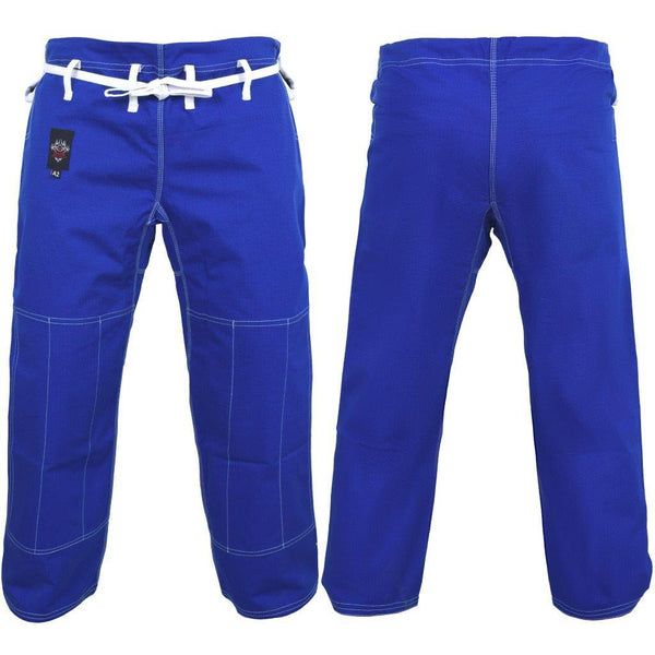 Dragon Fight Wear Competition BJJ Pants (Various Colour & Size Options)-A1-Blue-MO REPS® Fitness Store