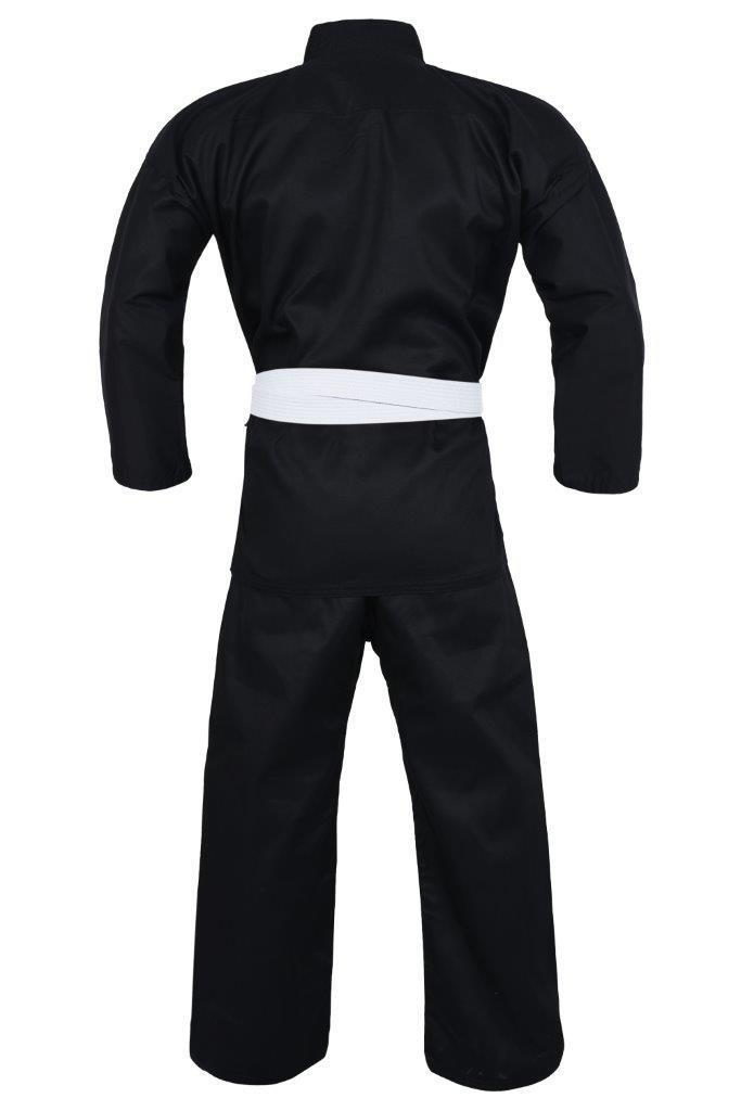 Dragon Karate Uniform (Black) - 8oz-MO REPS® Fitness Store
