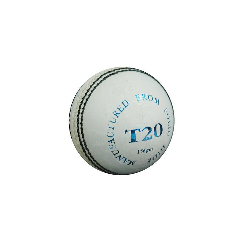 Dukes T20 Cricket Ball-White-MO REPS® Fitness Store