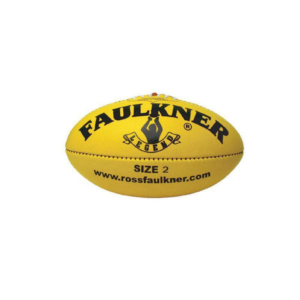 Faulker Legend Leather Football-2-Yellow-MO REPS® Fitness Store