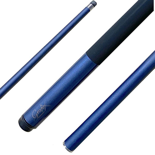 Grafex Tournament 8 Ball Pool Cue-Blue-MO REPS® Fitness Store