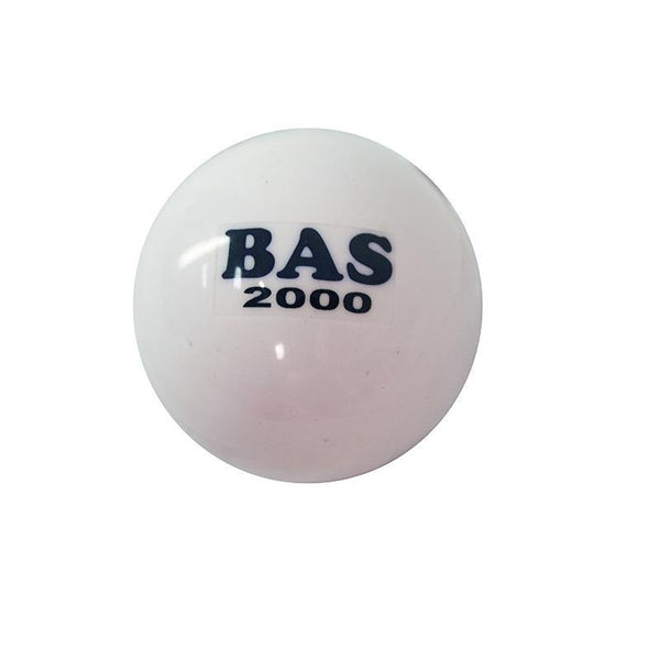 Hockey Ball Poly 2000 White-MO REPS® Fitness Store