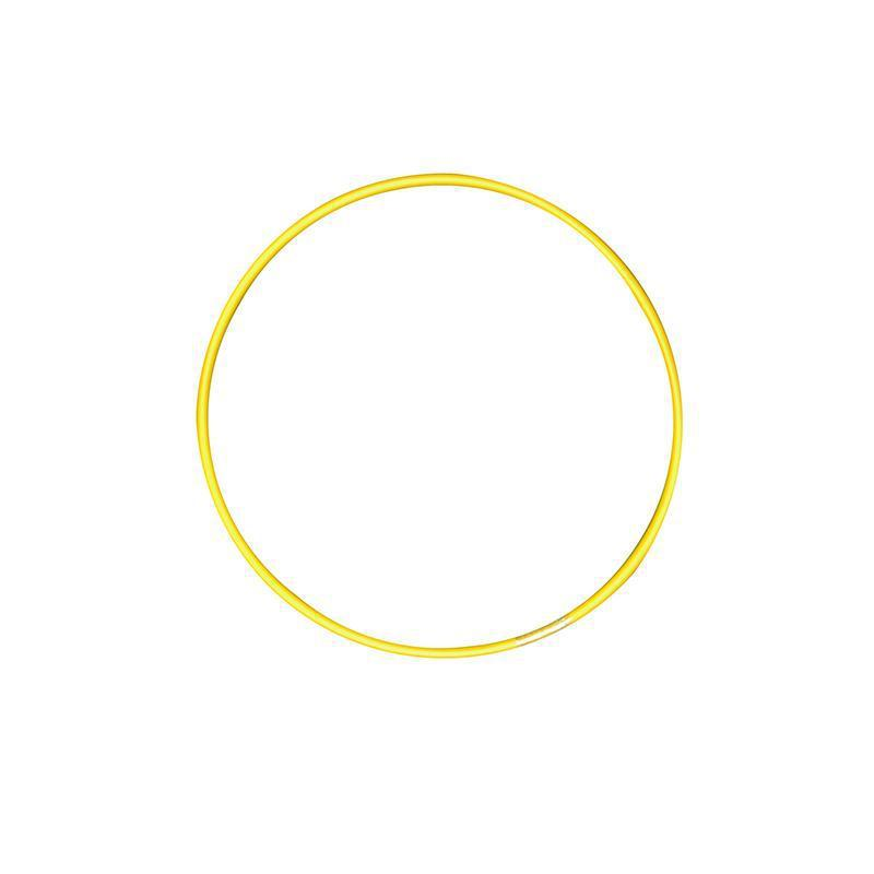 Hollow Hula Hoop-Yellow-61cm-MO REPS® Fitness Store