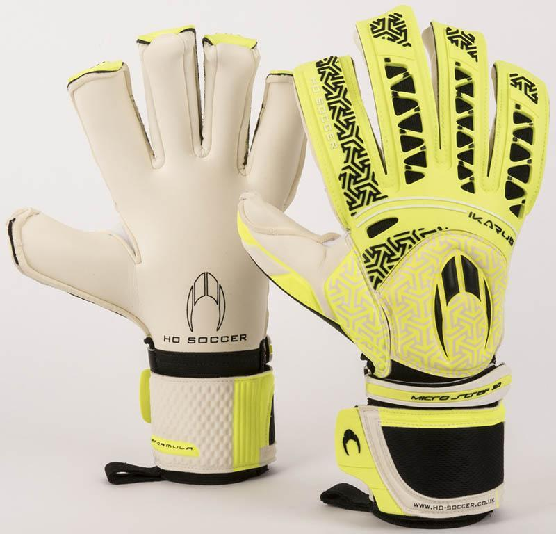 Ikarus Roll Negative Goalkeeping Gloves - Lime-MO REPS® Fitness Store