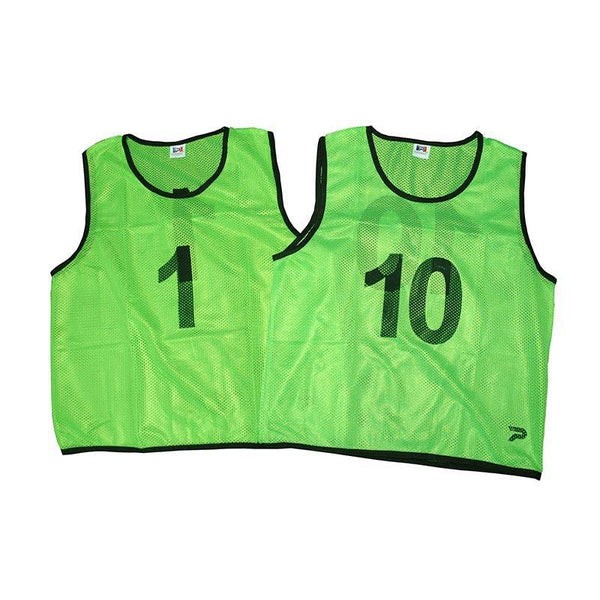 Mesh Training Singlet Set - Numbers 1-10-Small-FluoroGreen-MO REPS® Fitness Store