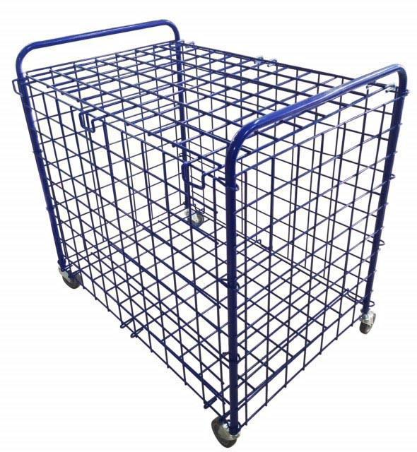 Metal Mesh Ball Storage Cage - Foldable-MO REPS® Fitness Store