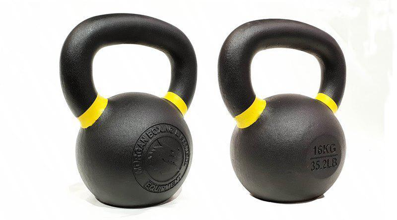 Morgan 160kg Cast Iron Kettlebell Pack-MO REPS® Fitness Store