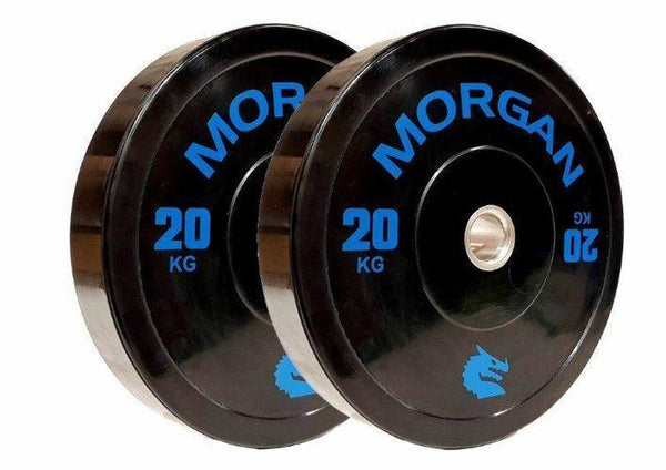 Morgan 20kg Olympic Bumper Plates (Pair)-MO REPS® Fitness Store