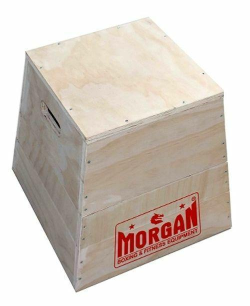 Morgan 3 In 1 Trapezia Wooden Plyo Box-MO REPS® Fitness Store