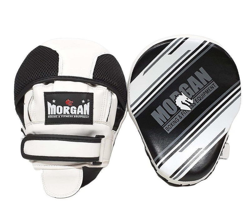Morgan Aventus Leather Focus Pads (Pair)-MO REPS® Fitness Store