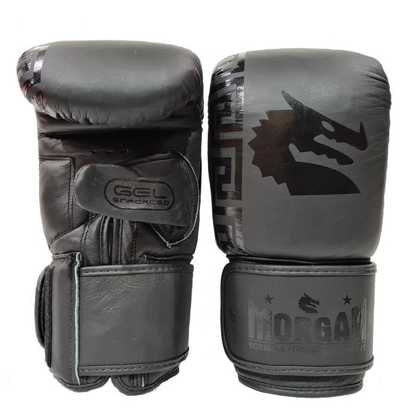 Morgan B2 Bomber Leather Bag Mitts-MO REPS® Fitness Store