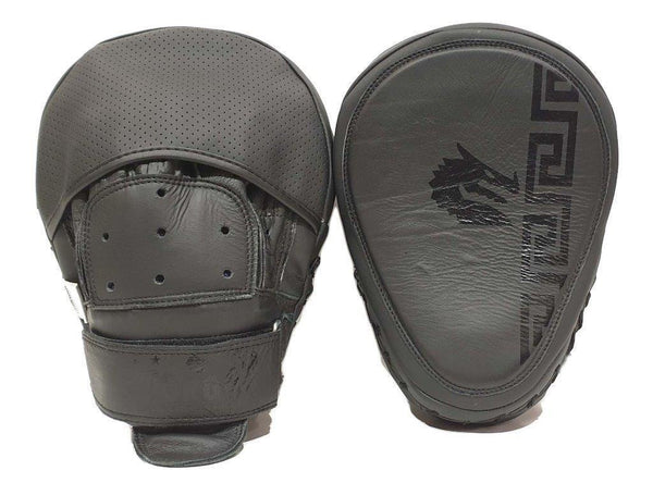 Morgan B2 Bomber Leather Focus Pads (Pair)-MO REPS® Fitness Store