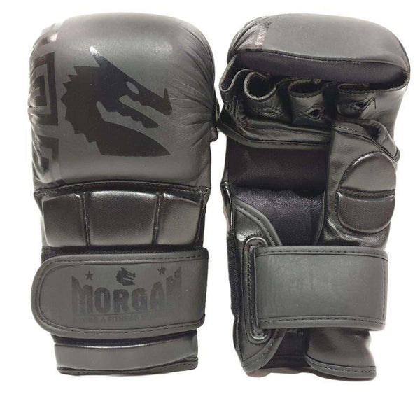 Morgan B2 Bomber Leather Shoto MMA Sparring Gloves-SMALL-MO REPS® Fitness Store