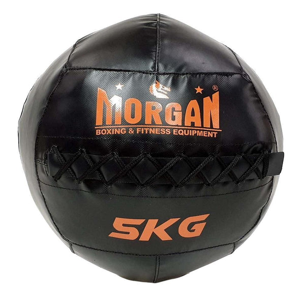 Morgan Cross Functional Fitness Wall Ball (5kg to 12kg)-5KG-MO REPS® Fitness Store
