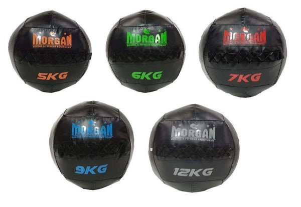 Morgan Cross Functional Fitness Wall Ball Set Of 5 (5+6+7+9+12kg)-MO REPS® Fitness Store