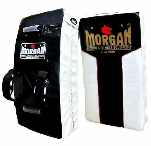 Morgan Curved Hit & Strike Shield With Adjustable Rear Straps-MO REPS® Fitness Store