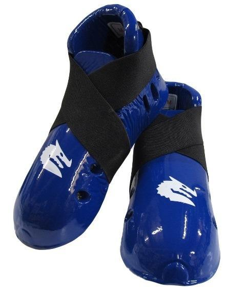 Morgan Dipped Foam Protector - Foot Guards for Martial Arts Sparring-S-BLUE-MO REPS® Fitness Store