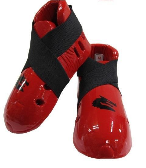Morgan Dipped Foam Protector - Foot Guards for Martial Arts Sparring-S-RED-MO REPS® Fitness Store
