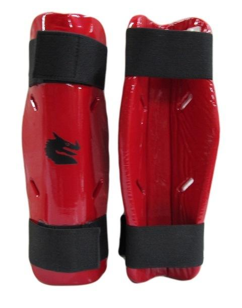 Morgan Dipped Foam Protector - Shin Guards-S-RED-MO REPS® Fitness Store