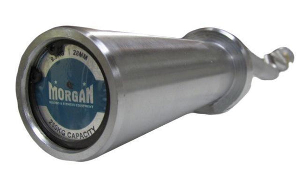 Morgan DLX Hard Chrome Curl Bar - 250kg Max Capacity-MO REPS® Fitness Store