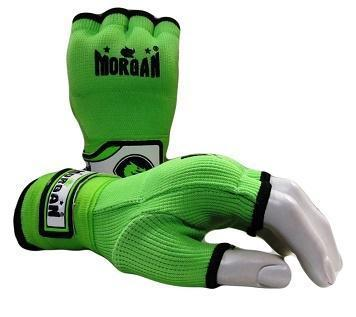 Morgan Elasticated Easy Hand Wraps-X-SMALL-GREEN-MO REPS® Fitness Store