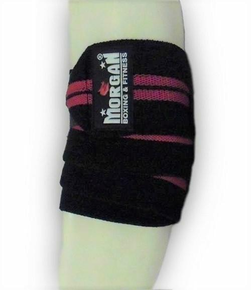 Morgan Elasticated Elbow Wraps (Pair)-MO REPS® Fitness Store