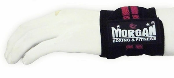 Morgan Elasticated Wrist Wraps (Pair)-MO REPS® Fitness Store