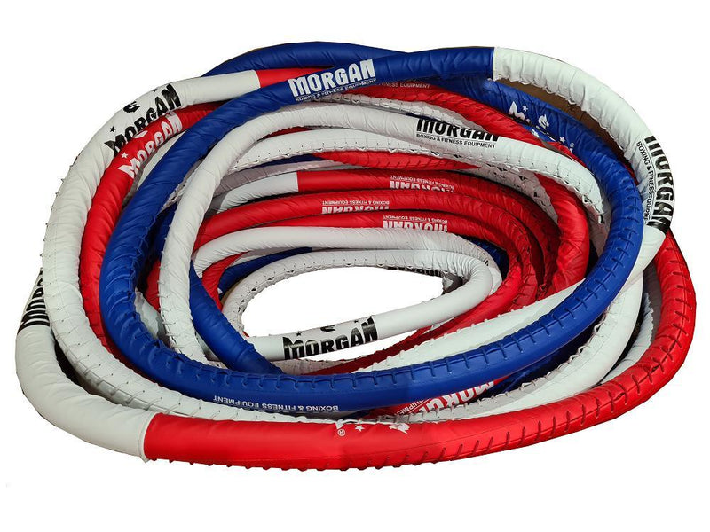 Morgan Elite 5M x 5M Boxing Ropes-MO REPS® Fitness Store
